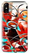Abstraction 3424 IPhone Case