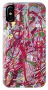 Abstraction 47 IPhone Case