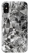 pERMEABLE aBSTRACTION  IPhone Case