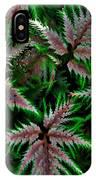 Abundance Of Ferns IPhone Case
