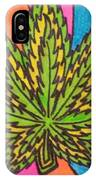 Aceo Cannabis Abstract Leaf  IPhone Case