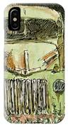 Aceo No 4 Old Ford Truck And Barn Wc IPhone Case by David King