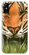 Aceo Tiger IPhone Case