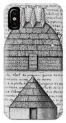 Acolapissa Temple & Cabin IPhone Case