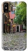 Acorn St. Boston Ma. IPhone Case