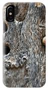Acorn Woodpecker Cache, Sequoia National Park, Ca  September 2016 IPhone Case