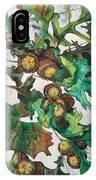 Acorns On An Oak  IPhone Case