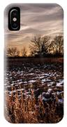 Across The Frozen Fields  IPhone X Case