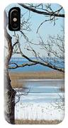 Across The Marsh To Woodneck Beach - Cape Cod IPhone Case