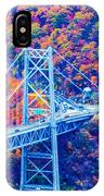 Across The Other Side Of Bear Mountain Bridge IPhone Case