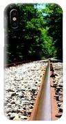 Across The Tracks IPhone Case