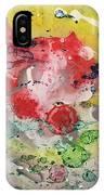 Acrylic Abstract 15-u.uuu IPhone Case
