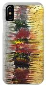 Acrylic Abstract Vertical 15-y.yyy IPhone Case