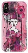 Acrylic Variations Kitri IPhone Case