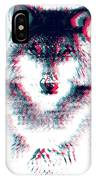 Act Like A Wolf IPhone Case