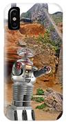 Actor Jonathan Harris As Dr Smith From Lost In Space II IPhone Case