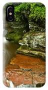 Adams Falls Landscape IPhone Case