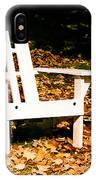 Adirondack Chair IPhone Case