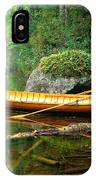 Adirondack Guideboat IPhone Case