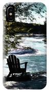 Adirondack Silhouette IPhone Case