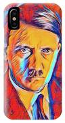 Adolf Hitler, Leaders Of Wwii Series.  IPhone Case