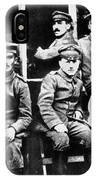 Adolf Hitler With  Fellow Soldiers From The List Regiment  Number Two Circa 1916 IPhone Case