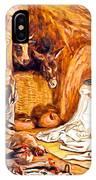 Adoration Of The Shepherds Nativity IPhone Case