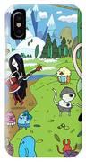 Adventure Time IPhone Case