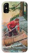 Adventures On The Nipigon IPhone Case