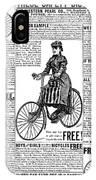 Advertisement, 1891 IPhone Case