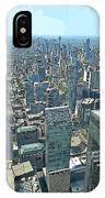 Aerial Abstract Toronto IPhone Case
