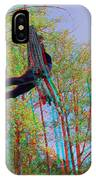 Aerial Artist - Use Red-cyan 3d Glasses IPhone Case