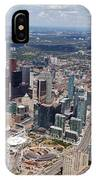 Aerial Of Downtown Toronto Ontario IPhone Case