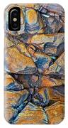 Aerial Rock Abstract IPhone Case