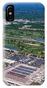 Aerial View Of A Racetrack IPhone Case
