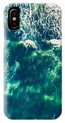 Aerial View Of The Ocean IPhone Case