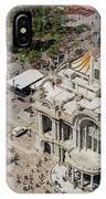 Aerial View Of The Palace Of Fine Arts IPhone Case