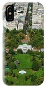 Aerial View Of The White House IPhone Case