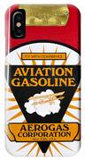 Aerogas Red Pump IPhone Case