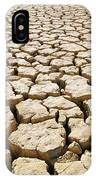 Africa Cracked Mud IPhone Case