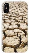 Africa Cracked Mud IPhone X Case