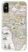 Africa Nova Map IPhone Case