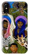African Angels IPhone Case