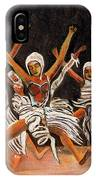 African Dancers IPhone X Case