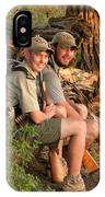 African Game Guides IPhone Case