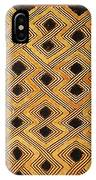 African Kuba Design IPhone Case