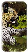 African Leopard IPhone Case