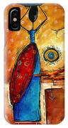 African Queen Original Madart Painting IPhone Case