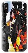 African Tribal Stand IPhone Case