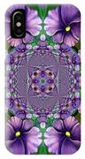 African Violet Wave IPhone Case